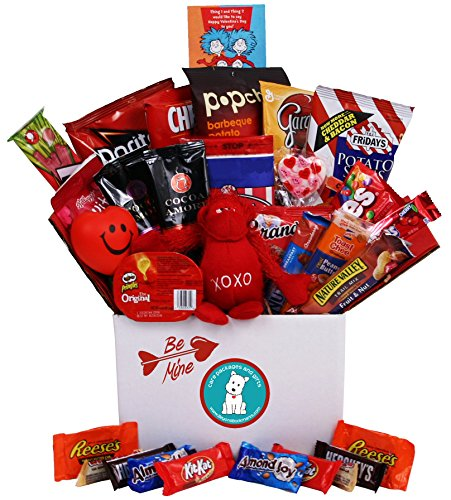 Be Mine Valentine's Day Care Package - Great for College Students, Military Troops or to Wish Anyone a Happy Valentine's Day (Medium Size)