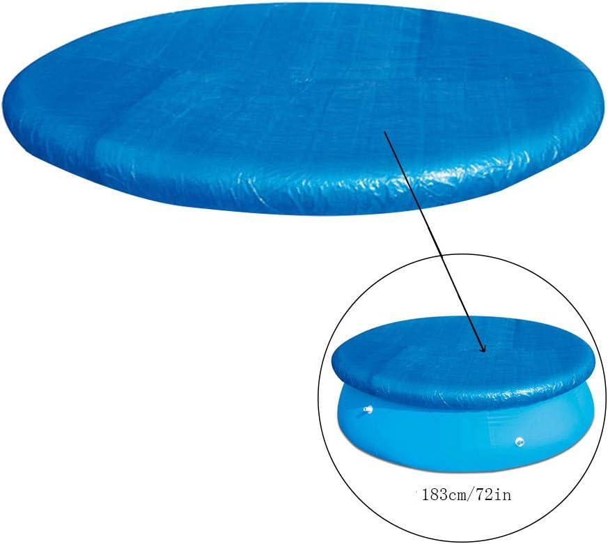 Solarabdeckplane F/ür Easy Set und Frame Pool /Ø 366 cm LILICAT Solarplane Poolabdeckung Solar Cover Pool