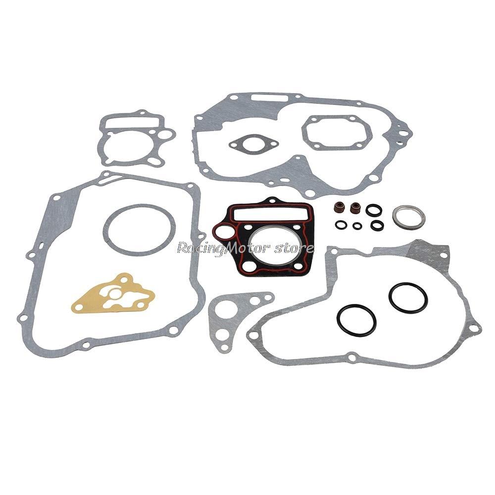 AjaxStore Motorcycle Complete Engine Gasket set Kit For Honda 70cc-90cc ATC70 C70 C70M CL70 CRF70 CRF70F CT70 CT70H Passport Trail 70