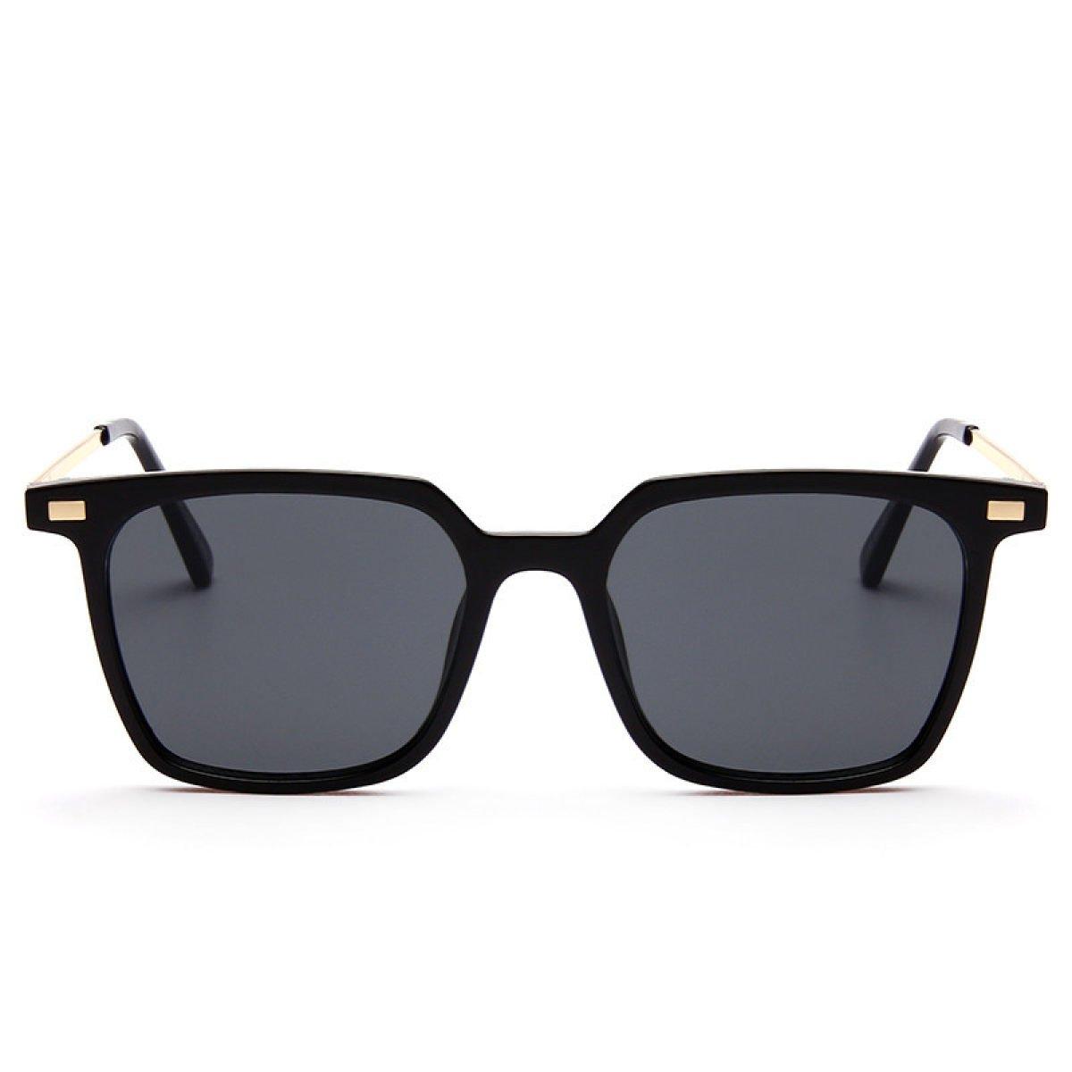 Wkaijc Farbfilm Box Männer Und Frauen Mode Wild Persönlichkeit Komfort Sonnenbrillen Sonnenbrillen,Brown