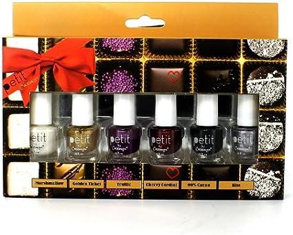Cherimoya – Petit esmalte de uñas Set (3 Pack) – Truffle eléctrica: Amazon.es: Belleza