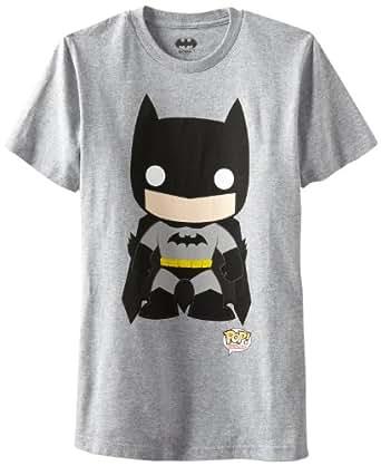 Mens DC Comics Batman Funko T-shirt Grey XXL