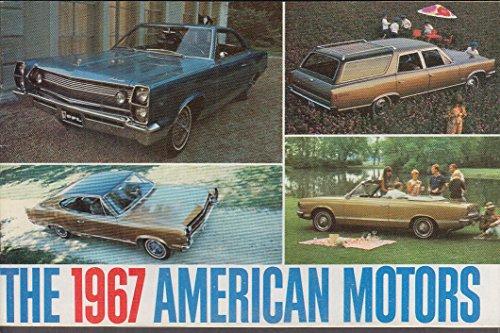 1967 American Motors brochure Ambassador Marlin Rebel Rambler