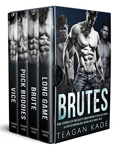 Brutes: The Complete Beckett Brothers Collection (A Contemporary Romance Box Set) (Christmas Door Buddies Next)