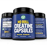 Raw Barrel's - Pure Creatine Monohydrate Capsules - 240 micronized pills - 700mg
