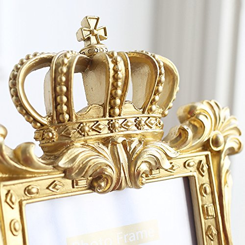 Small gold picture frames 2x3