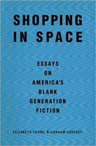 com shopping in space essays on america s blank  com shopping in space essays on america s blank generation fiction 9780802133946 elizabeth young graham caveney books