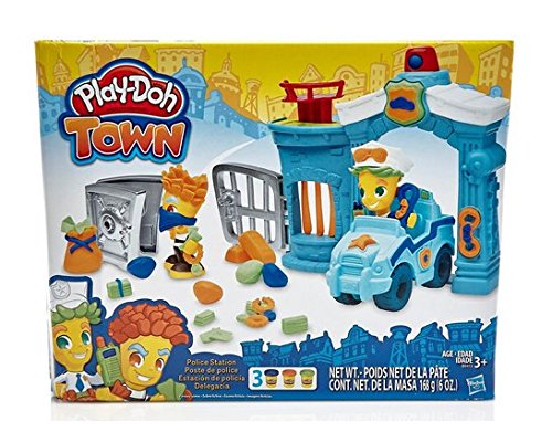 Play-Doh Town Police Station]()