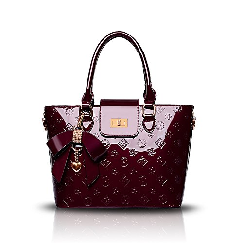 Sdinaz 2018 new women's handbag fashion shoulder Messenger bag PU embossed wallet -