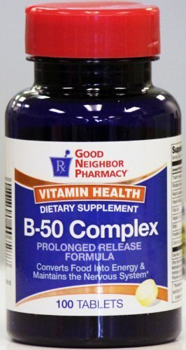 (GNP B-50 Complex Prolonged Release Formula (100 tablets) by Good Neighbor Pharmacy)