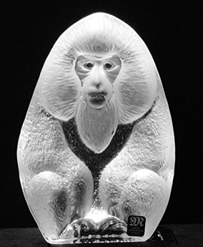 Mats Jonasson Crystal Monkey Ape ()