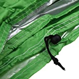 Heavey Duty Grill Cover Polyester Waterproof Windproof Dustproof BBQ Barbecue Cover For Indoor Outdoor Garden Patio HZC46 (S: Circle 23''X30'', Green)