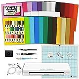 Silhouette Cameo 3 Machine Bundle Sketch Pen Pack, 25 colors vinyl, Hook, Scraper, Spatula, Quick Pick Up, Designs