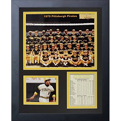 """Legends Never Die """"1979 Pittsburgh Pirates"""" Framed Photo Collage, 11 x 14-Inch by Legends Never Die"""