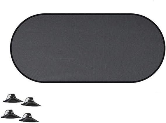 ZRR colore Nero Nero Parasole per lunotto posteriore auto