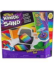 Kinetic Sand - Sandisfactory Set met 907 g speelzand - met 10 gereedschappen