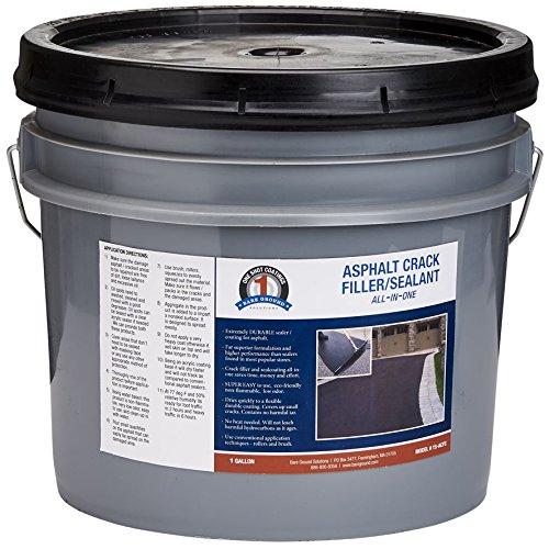 One Shot 1S-ACFS Asphalt Crack Filler/Seal Coating in 1-Gallon Bucket, 10 (Asphalt Driveway Coating)