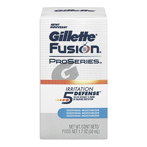 Gillette Fusion Moisturizer 1.7 Oz, Pack of 2