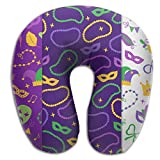 Scorpio Mardi Gras Lightweight Travel Pillow Spa U SHAPE For Auto People