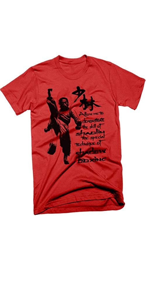 Kung fu T-Shirt Retro Martial Arts Classic Quote Red