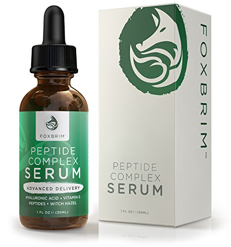 Peptide Complex Serum - BEST Anti Aging Serum - Anti Wrinkle Skin Care - Advanced Delivery - Facial Skin Care - Natural & Organic - Plump, Smooth and Even Skin - For Collagen Production & Optimal Skin Health - Amazing Guarantee 1oz (Peptide Cream compare prices)