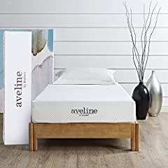 Take a deep breath and exhale because you've found your pathway to that perfect sleep with the Aveline 8 inch pressure relief twin memory foam mattress. Topped with gel-infused memory foam to keep your body climate steady, this firm twin matt...