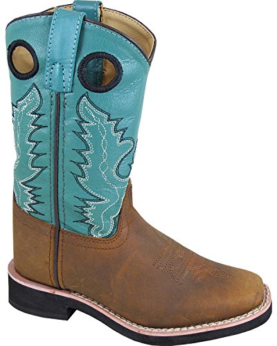 Smoky Brown Mountain Boots Western Pueblo Kids x6v8xwaq