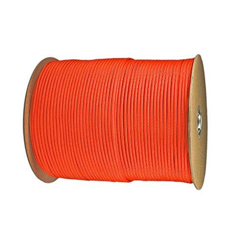 PARACORD PLANET Paracord (50+ Colors) - 1,000 Foot spools - 250 Foot spools - 100 feet Hank ()