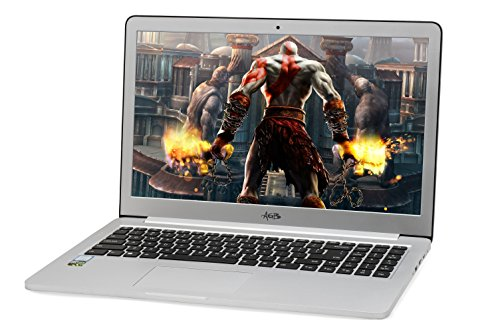 AGB Tiara 2403-R 15.6″ Laptop (7th Generation Intel Core i7-7500U /8 GB/512 GB SSD and 1 TB HDD /NVIDIA GTX 950 2G DDR5) Win 10 Pro/Aluminium Body