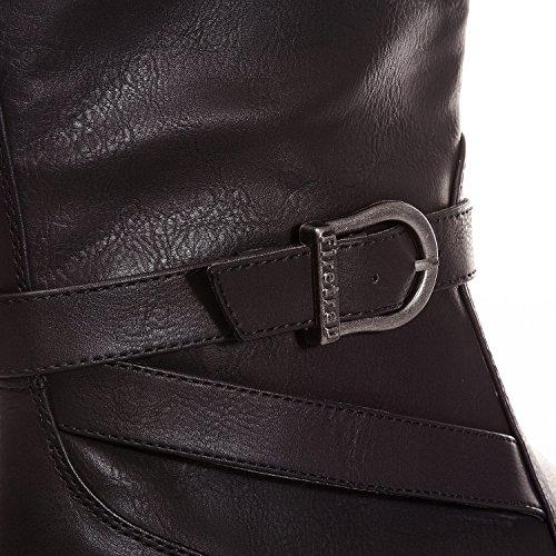 in Firetrap Boots Women's Black Dressage 4nAt6