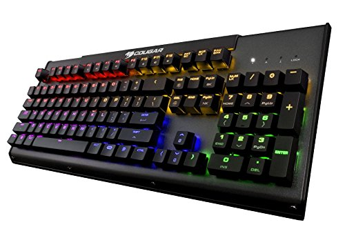 Cougar ULTIMUS RGB1 Metal-Based RGB Mechanical Gaming Keyboard with Red Switches