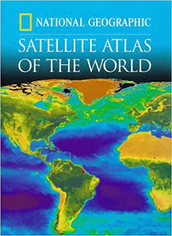 National Geographic Satellite Atlas Of The World National - National geographic world satellite map