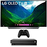 LG 77' C8 OLED 4K HDR AI Smart TV (2018)(OLED77C8PUA) with Xbox One X 1TB Console
