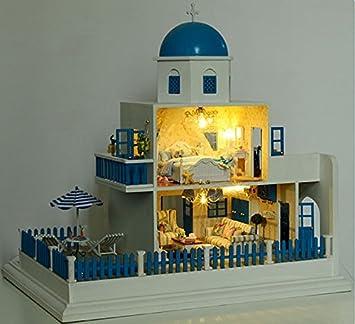Amazon.es: kit de casa de munecas hechas a mano fijoe en miniatura ...