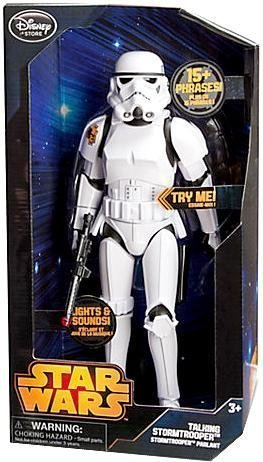 Star Wars Disney Exclusive 13 Inch Talking Figure Stormtrooper [Lights & Sounds!]]()