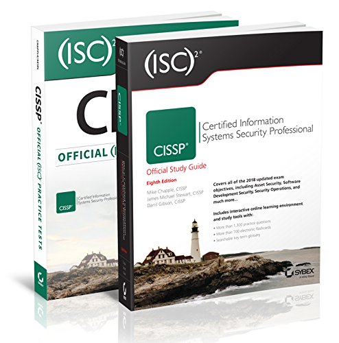 (ISC)2 CISSP Certified Information Systems Security Professional Official Study Guide, 8e & CISSP Official (ISC)2 Practice Tests, 2e (Best Cissp Study Guide)