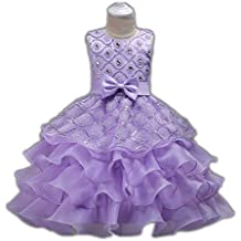 FKKFYY 2-14 Years Girl Party Wedding Pageant Special Occasion Dress