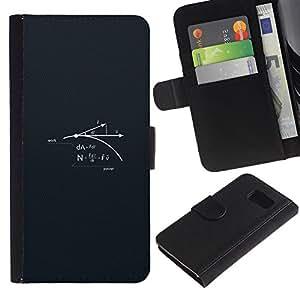 YiPhone /// Tirón de la caja Cartera de cuero con ranuras para tarjetas - Ciencia Poder - Sony Xperia Z3 Compact