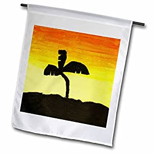 Young Artist Expo - Sunset - 12 x 18 inch Garden Flag (fl_4134_1)