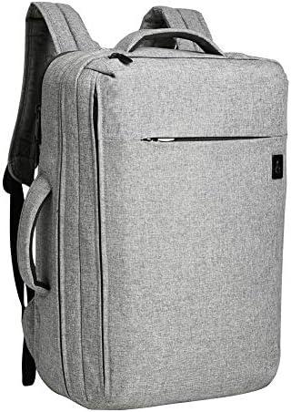 OLUOLIN Travel Laptop Backpack School College Bag Carry On Airline-Approved Backpack Weekender Bag Fits 16 Inch, Black