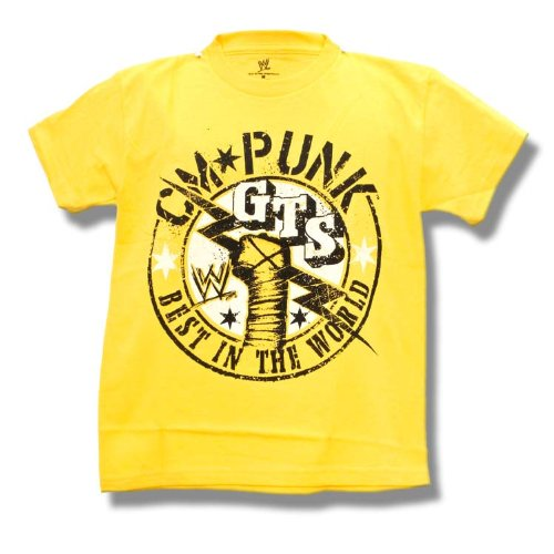 WWE CM Punk Best in The World Kid Size Large T-Shirt