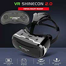 GIZMOOR 3D VR Box SHINECON 2.0 Virtual Reality Glasses Movie Game with Bluetooth Control
