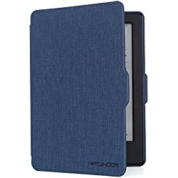 "NIFTYNOOK Case for Kindle E-Reader 6"" Display only for 8th Generation Release Year 2016 w/Auto Sleep/Wake funtion in Dark Blue"