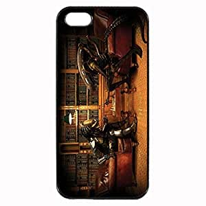 alien vs predator Hunter Custom Image Case iphone 4 case , iphone 4S case, Diy Durable Hard Case Cover for iPhone 4 4S , High Quality Plastic Case By Argelis-sky, Black Case New