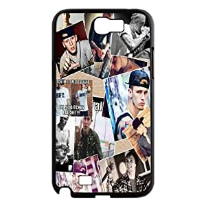 T-TGL(RQ) Customized MGK Pattern Protective Cover Case for Samsung Galaxy Note 2 N7100