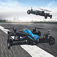 Blu7ive RC Quadcopter Drone Flying Cars Quadcopter Toy 2.4G 6-Axis Gyro 4 Channel Headless Mode Remote Control