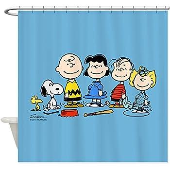 24b4957dc5a0d 70%OFF CafePress - Peanuts Snoopy Like A Boss - Decorative Fabric Shower  Curtain (