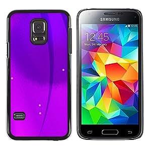 Stuss Case / Funda Carcasa protectora - Purple Strands - Samsung Galaxy S5 Mini, SM-G800