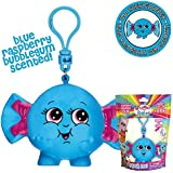 Whiffer Squishers Ima Bubblepopper Slow Rising Squishy Toy Blue Raspberry Bubble Gum Scented Backpack Clip