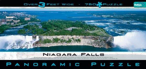 Panoramic Niagara Falls 750 Pieces Jigsaw Puzzle